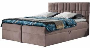 Επενδυμένο κρεβάτι Roz-140 x 200 εκ.