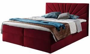 Επενδυμένο κρεβάτι Kokkino-140 x 200 εκ.