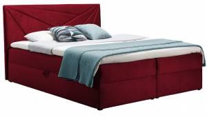 Επενδυμένο κρεβάτι Kokkino-120 x 200 εκ.
