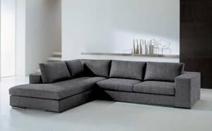 Γωνιακός καναπές Δεξιά-260φ 200β-Γκρι