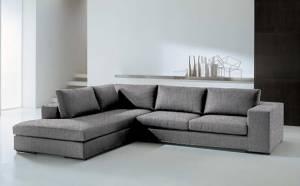 Γωνιακός καναπές Δεξιά-280φ 220β-Γκρι Anoixto