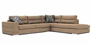 Γωνιακός καναπές Αριστερή-260φ 200β-Sand