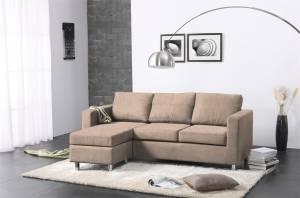 Γωνιακός καναπές 180 x 120-Μπεζ