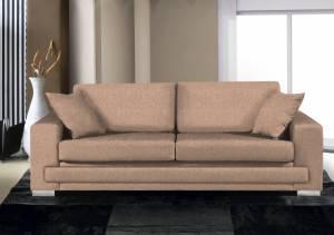 Καναπές Τριθέσιος-210φ 90β εκ.-Mocha