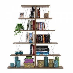 Βιβλιοθήκη διπλή  - 2 τμχ