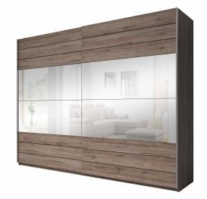 Ντουλάπα Συρόμενη με Καθρέπτες-270 x 61 x 210 εκ.