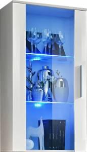 Βιτρίνα Κρεμαστή -Λευκό Γυαλιστερό