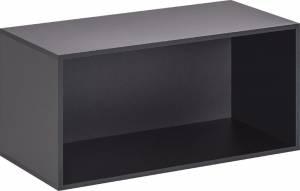 Ανοικτό κουτί αποθήκευσης -Μαύρο