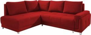 Γωνιακός καναπές -Δεξιά-Κόκκινο