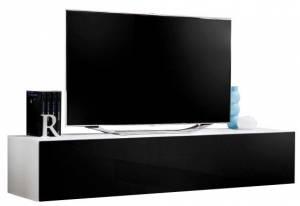 Κρεμαστή βάση τηλεόρασης -Μαύρο - Λευκό