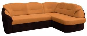 Γωνιακός καναπές -Δεξιά-Πορτοκαλί
