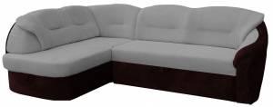 Γωνιακός καναπές -Αριστερή-Γκρι Ανοιχτό