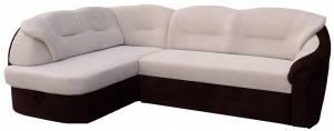 Γωνιακός καναπές -Αριστερή-Κρεμ