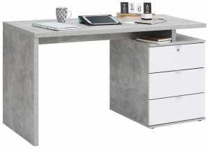 Γραφείο -Γκρι - Λευκό