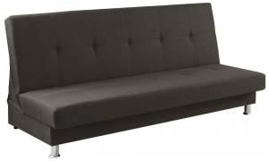 Καναπές - κρεβάτι -Γκρι Σκούρο