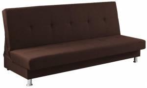 Καναπές - κρεβάτι -Καφέ