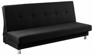 Καναπές - κρεβάτι -Μαύρο