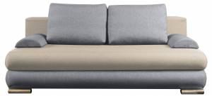 Καναπές - κρεβάτι -Μπεζ - Γκρι