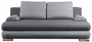Καναπές - κρεβάτι -Γκρι ανοικτό - Γκρι σκούρο