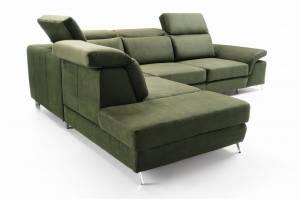 Γωνιακός καναπές -Δεξιά-Prasino
