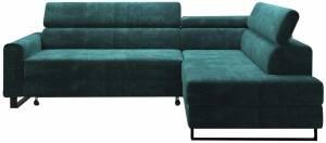 Γωνιακός καναπές -Petrol-Δεξιά
