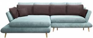 Γωνιακός καναπές -Galazio