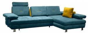 Γωνιακός καναπές -Αριστερή-Petrol