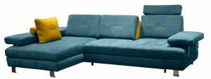 Γωνιακός καναπές -Δεξιά-Petrol