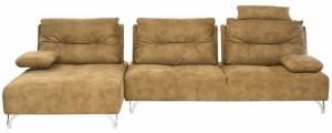 Γωνιακός καναπές -Δεξιά-Cappuccino
