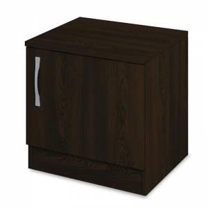 Κομοδίνο με ένα ντουλάπι χρώμα wenge 40x35,5x41εκ