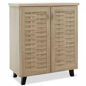 Παπουτσοθήκη-ντουλάπι 12 ζεύγων χρώμα sonoma 78x40x92εκ