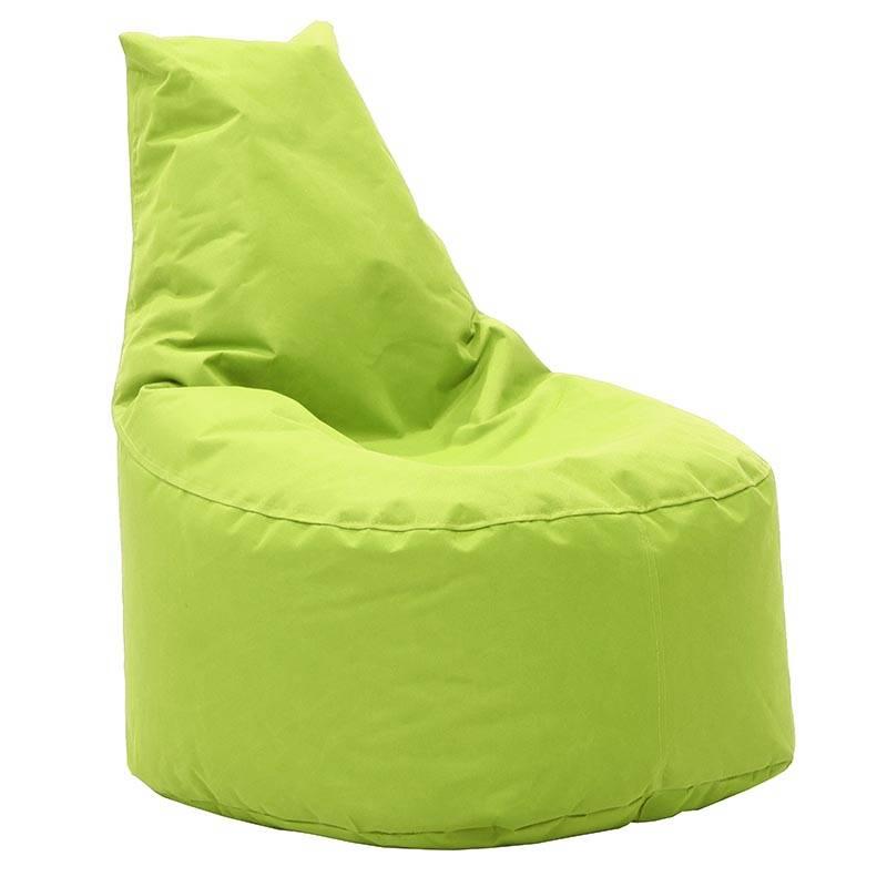 Πουφ πολυθρόνα υφασμάτινο αδιάβροχο πράσινο