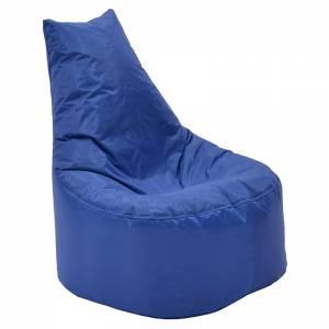 Πουφ πολυθρόνα επαγγελματικό 100% αδιάβροχο μπλε