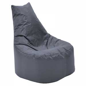 Πουφ πολυθρόνα επαγγελματικό 100% αδιάβροχο γκρι