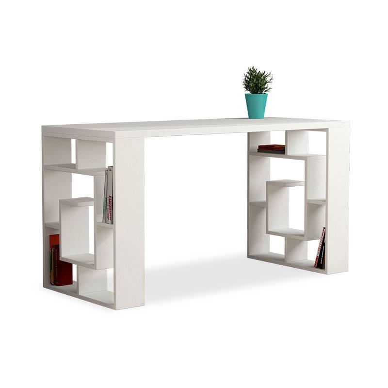 Γραφείο λευκό 140x60x75εκ