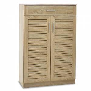 Παπουτσοθήκη-ντουλάπι 20 ζεύγων χρώμα sonoma 80x37x123εκ