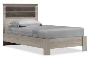 Κρεβάτι μονό σε χρώμα castillo-toro 100x200εκ