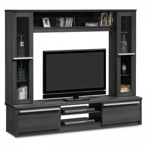 Σύνθετο σαλονιού TV χρώμα embony oak 180,5x40x158εκ