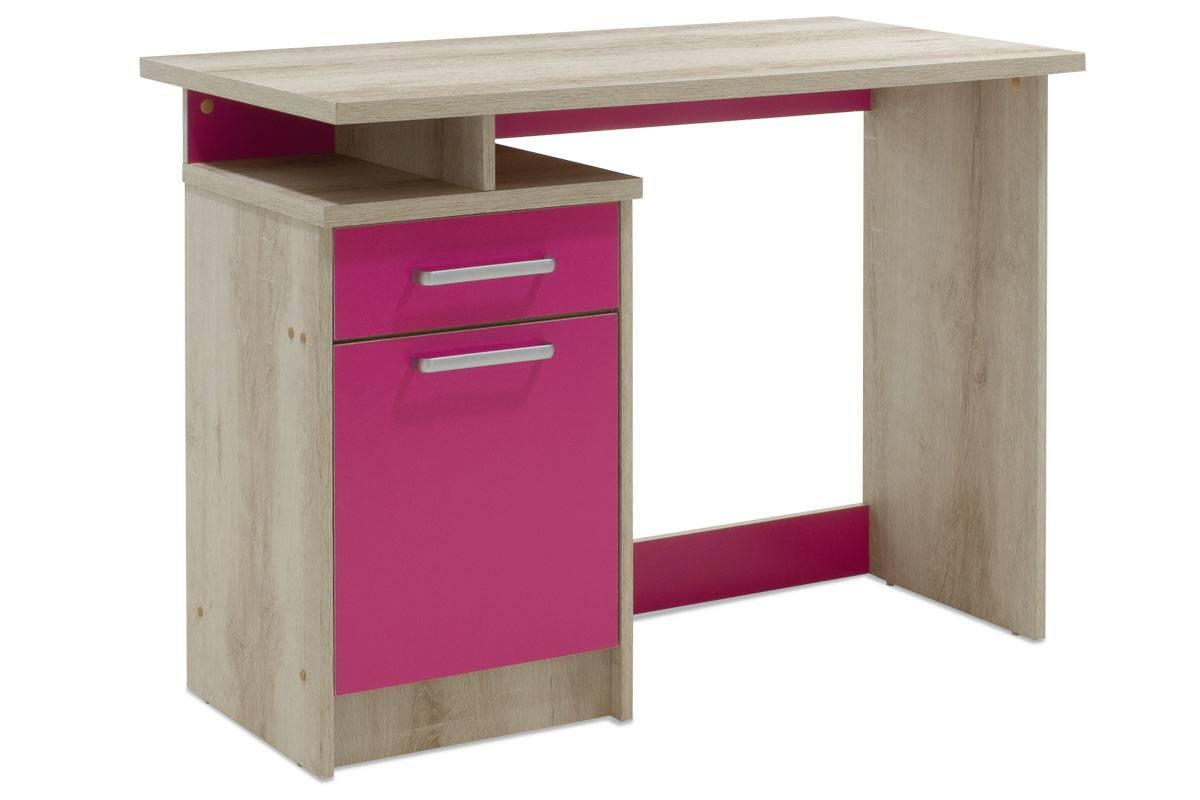 Γραφείο παιδικό χρώμα castillo-ροζ 100x55x75εκ