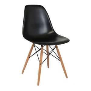 Καρέκλα Anita-Wood Μαύρο