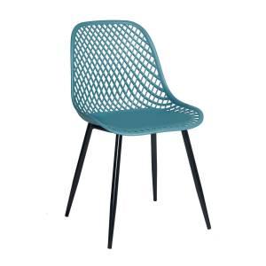 Καρέκλα Lida Πετρόλ 47 x 54 x 84
