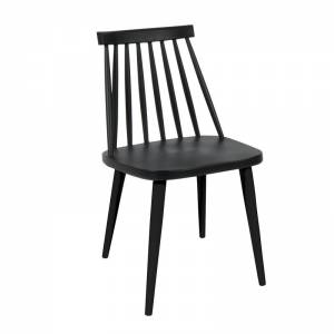 Καρέκλα Μέταλλο & PP Μαύρο