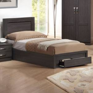 Κρεβάτι-Συρτάρι (για στρώμα 90x200) Zebrano
