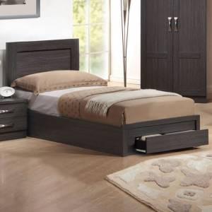 Κρεβάτι-Συρτάρι (για στρώμα 90x190) Zebrano