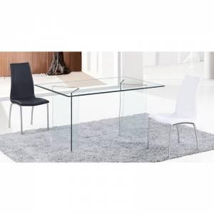 Τραπέζι - Γραφείο Διάφανο Γυαλί 12mm
