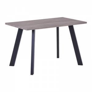 Τραπέζι 120x70cm Sonoma Oak/Βαφή Μαύρη