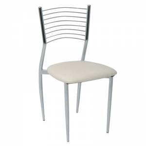 Καρέκλα Pvc Εκρού