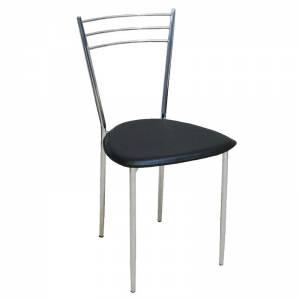 Καρέκλα Pvc Μαύρο