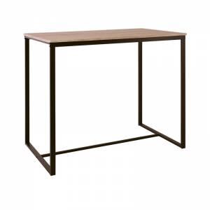 Τραπέζι BAR Μέταλλο Βαφή Σκούρο Καφέ - Sonoma