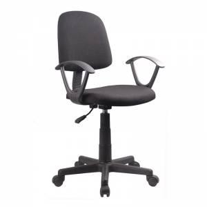 Πολυθρόνα Γραφείου Ύφασμα Μαύρο